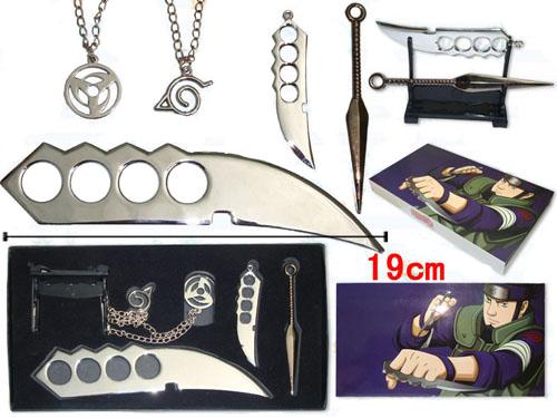 火影忍者武器带架 项链套装