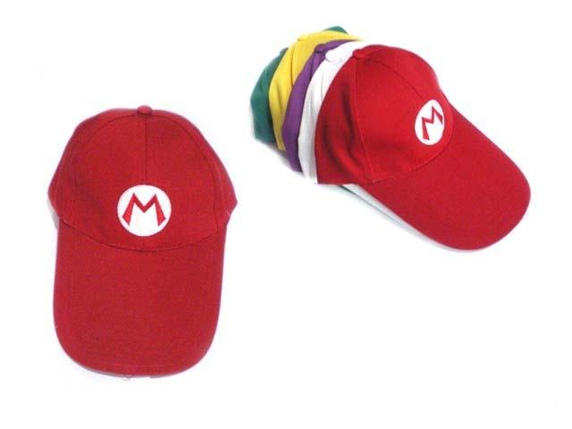 动漫超级玛丽帽子(红色)