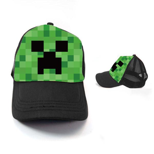 我的世界苦力怕jj怪爬行者的脸网帽货车帽