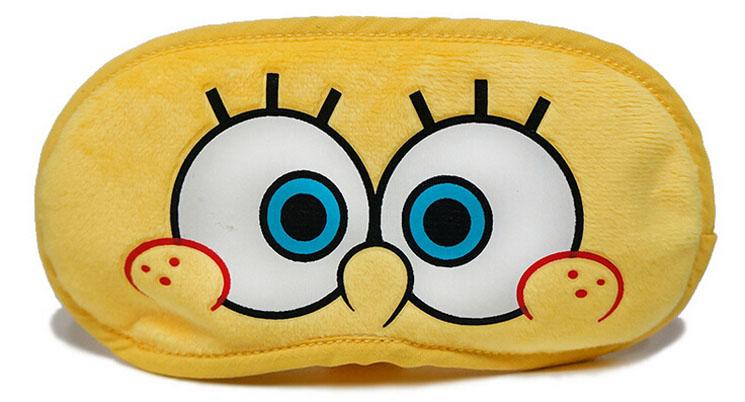 海绵宝宝卡通护眼罩