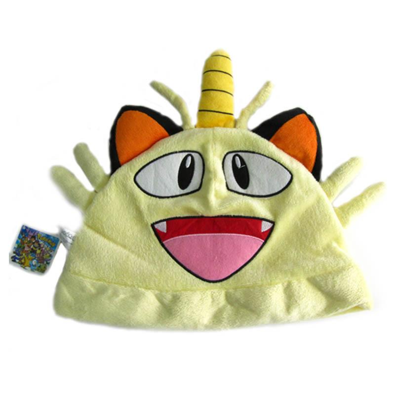 宠物小精灵神奇宝贝口袋妖怪喵喵毛绒帽子ph014
