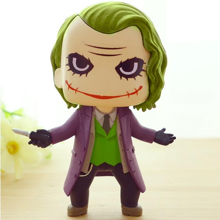 Q版蝙蝠侠小丑手办模型