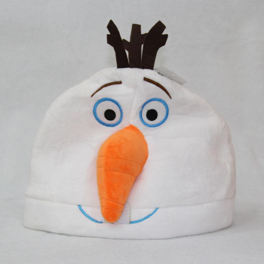 30cm冰雪奇缘雪人毛绒帽