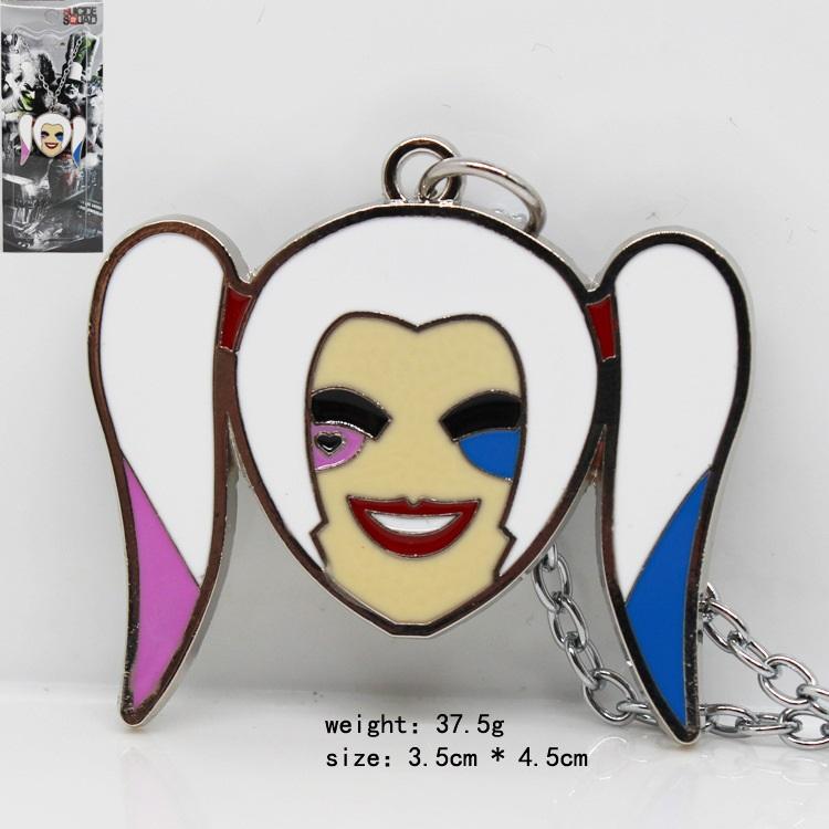 自杀小队小丑女项链