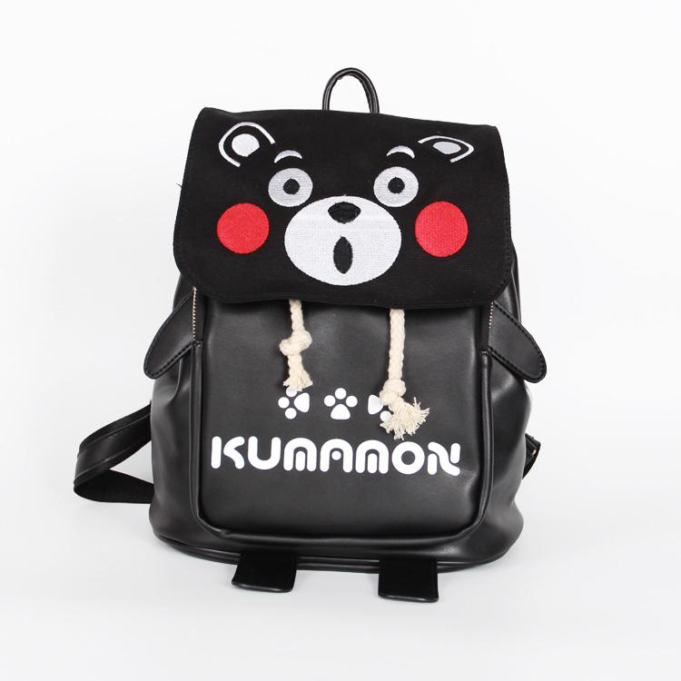 熊本熊pu双肩小书包 背包图片