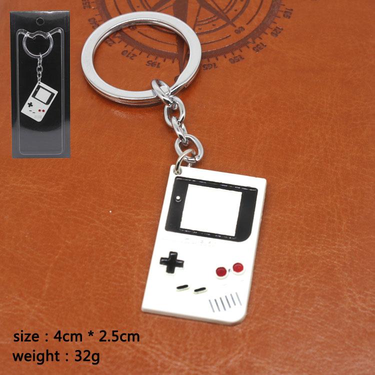 任天堂psp游戏机白色钥匙扣