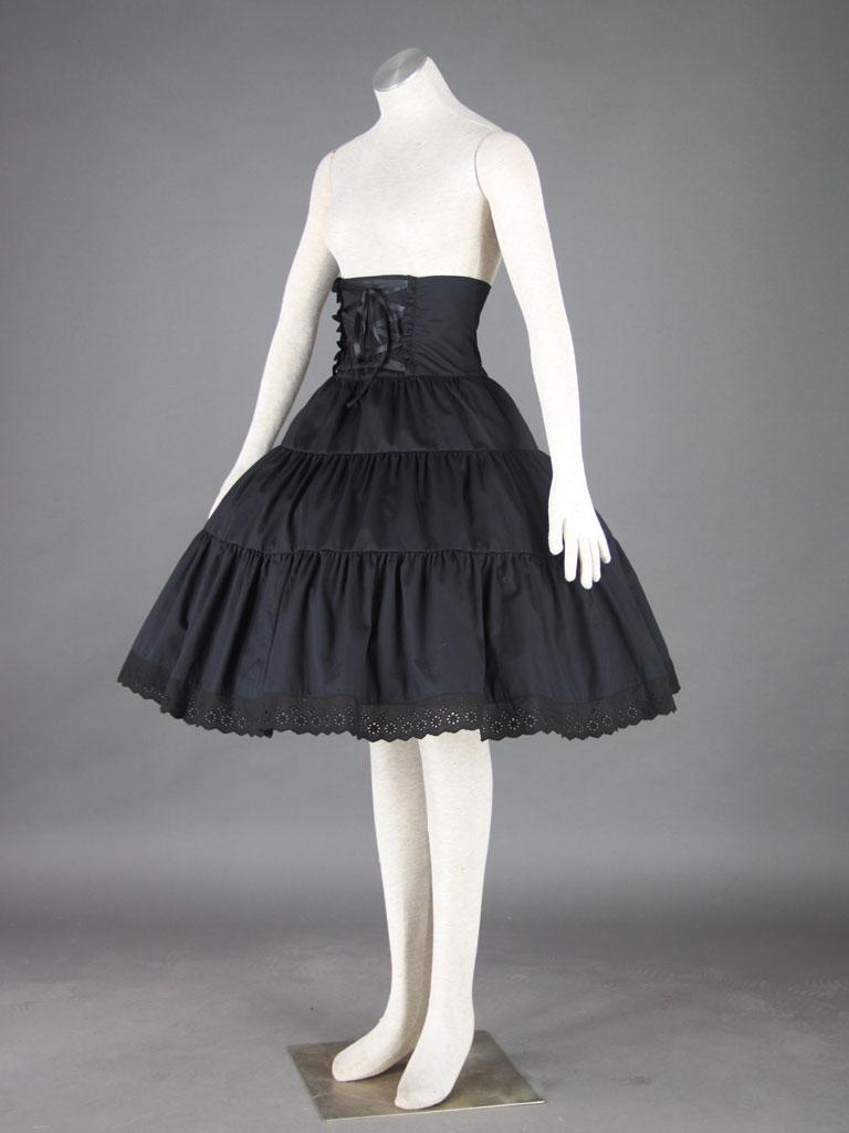 lolita文化-洛丽塔裙子2代-半连衣裙(女装2件套:半连衣裙,裙衬)
