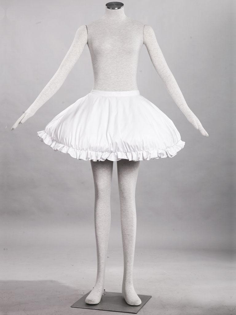 ...宝石腰蝴蝶结x2手套x2腿蝴蝶结x2白色双层花边三骨短丝袜