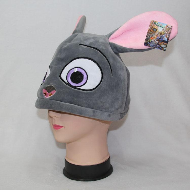 12寸疯狂动物城兔子毛绒帽